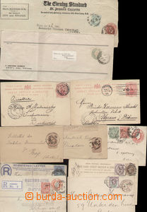 78351 - 1888-1922 comp. 11 pcs of various p.stat, it contains e.g. 6