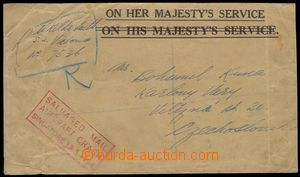 78401 - 1954 AUSTRALIA  off. envelope On Her Majesty´s Service with