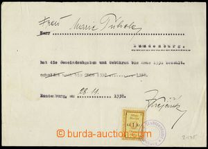 78475 - 1938 CZECHOSLOVAKIA 1918-39 / BŘECLAV  confirmation town of