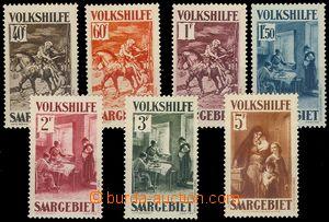 78492 - 1931 Mi.151-57 Národní pomoc - obrazy IV. , kompl. série,
