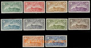 78499 - 1931 Mi.165-174 Letecké, kompl. série 10ks, hodnota 2,60L