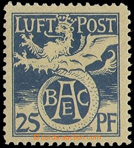 78500 - 1912 Mi. F I, air, semiofficial issue, rest of hinge, otherw