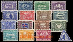 78502 - 1930 Mi.125 - 140  Milénium, kompl. série 16ks, pěkná kv