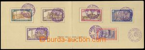 78506 - 1925 Mi.206-211 Svatý rok 1925, pamětní dvoulist, 7x kaš