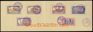 78506 - 1925 Mi.206-211 St. year 1925, memorial two-sheet, 7x cachet
