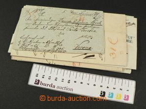 78523 - 1840-50 AUSTRIA  comp. 6 pcs of prephilatelic letters from B