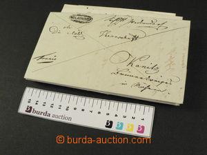 78527 - 1835-45 AUSTRIA  selection of 16 pcs of prephilatelic letter