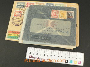 78549 - 1930-35 SOUTH AMERICA  comp. 11 pcs of airmail letters, vari