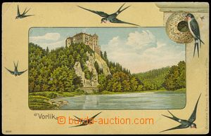 78635 - 1910 ORLÍK N. V. - castle, color, lithography collage swall