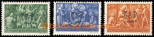 78700 - 1944 Chustský přetisk ČSP*1944*, známky Vánoce 1943 (Mi