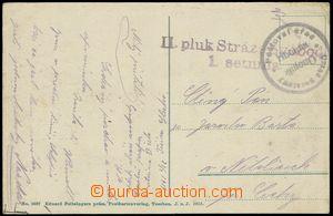 78726 - 1919 Šnejdárkovo tažení, pohlednice odeslaná 23.2.1919
