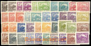78819 -  Pof.1-26 (bez č.6, 9 a 13), od většiny hodnot různé barevné