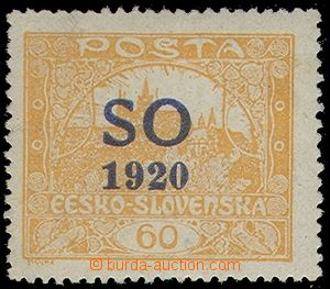 78851 -  Pof.SO14A, 60h yellow-orange blue Opt, comb perforation 13&