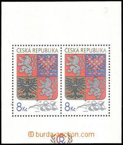 78924 - 1993 Pof.A10 VV, Velký státní znak, VV odlišný ořez, z