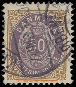 78963 - 1903 Mi.30 II Z Bb, Numerals in frame, inverted frame, c.v..