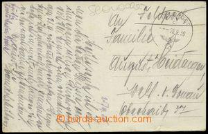 78984 - 1939 GERMANY  Slovensko, počátek války, pohlednice Oravsk