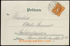 78985 - 1899 FRANKFURT (Main)  nice lithographic collage postcard wi