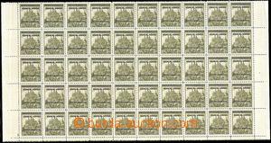 79037 - 1939 Pof.13 Kutná Hora s přetiskem, dolní 50-blok z PA, �