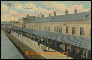 79086 - 1907 BŘECLAV (Lundenburg) - railway-station, train; Us, goo