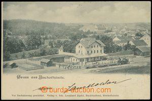 79088 - 1900 HORŠOVSKÝ TÝN (Bischofteinitz) - general view, railw
