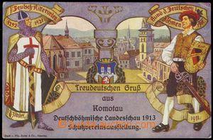 79091 - 1913 CHOMUTOV (Komotau) - promotional Ppc German club/associ