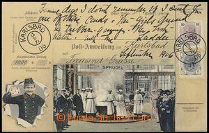 79094 - 1906 KARLOVY VARY (Karlsbad) - koláž Poštovní průvodka;