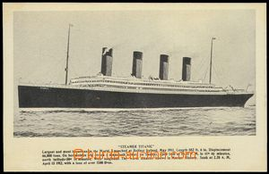 79108 - 1912 Titanic, picture ship and description tragic event/-s,