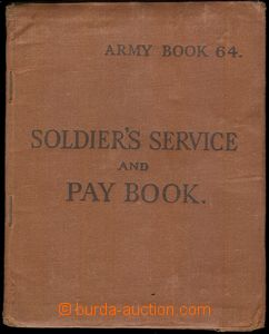79165 - 1943 MILITARIA  Military Service Book, Soldier's Service and