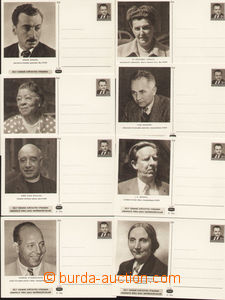 79179 - 1950 CDV100/1-23, Obránci míru, kompletní série 23ks, do