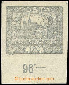 79211 -  Pof.21b stříbřitě šedá, kus s dolním okrajem a poč�