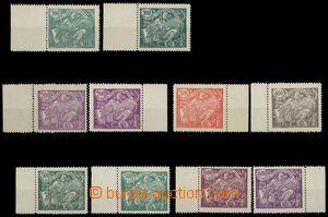 79216 -  Pof.164-169, 4x barevné odstíny, každý kus s okrajem, v
