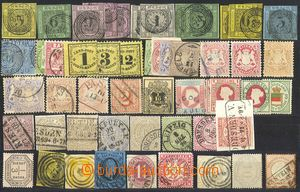 79220 - 1851-1900 collection of ca. 50 pcs of stamps, mainly used, v