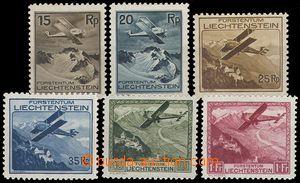 79241 - 1930 Mi.108-113, Airmail, complete set of, c.v.. 250€