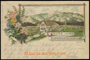 79299 - 1895 KRKONOŠE - Černá bouda (Schwarzschlagbaude bei Johan