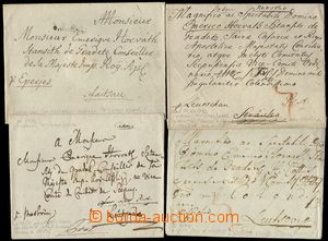 79340 - 1772-1800 comp. 12 pcs of letters mainly from Slovak territo
