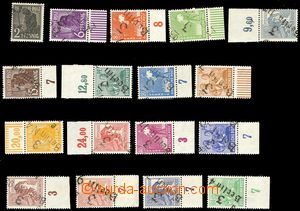 79399 - 1948 SOVIET ZONE, Mi.166-181 + A179 overprint set, outside t
