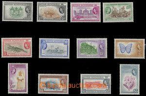 79488 - 1953 Mi.141-52, Queen Elizabeth II. , nice, c.v.. 120€
