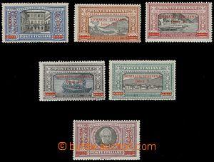 79513 - 1924 SOMALIA ITALIANA  Mi.57-62 přetiskové, kompletní sé