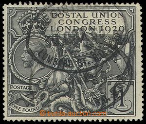 79517 - 1929 Mi.174, Poštovní kongres, koncová hodnota, 2x ováln