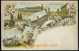 79527 - 1900 BŘECLAV (Lundenburg) - lithography, railway-station; l