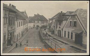 79540 - 1924 HEŘMANŮV MĚSTEC (dist. Chrudim), Jewish St., shops,
