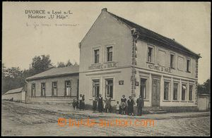 79541 - 1927 DVORCE - pub, people; Us, good condition