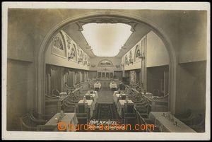 79543 - 1930 JÁCHYMOV (St. Joachimsthal) - interiér restaurace; ne