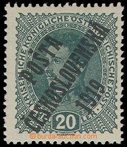 79570 -  Pof.39, 20h Charles, thick paper, c.v.. Pofis doesn't repor