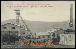79579 - 1911 ŠENSKY ROUDNIK - šachta Ravna Reka, čb, použité, z