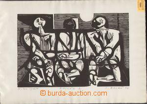 79593 - 1967 BALÁŽ Jozef (*1923): Epilog 2, autorský tisk 98/200