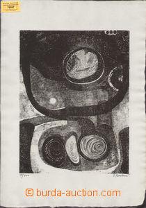 79597 - 1967 BOMBOVÁ Viera (*1932): Nocturno, autorský tisk 98/200