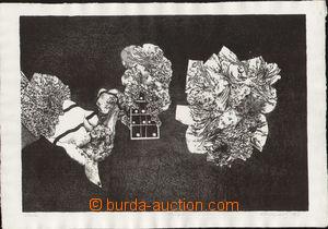 79598 - 1966 BRUNOVSKÝ Albín (1935-1997): Siesta, author's print 9