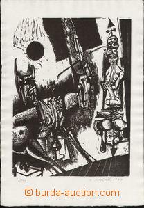 79607 - 1964 HLOŽNÍK Vincent (1919-1997): From the File Singleness