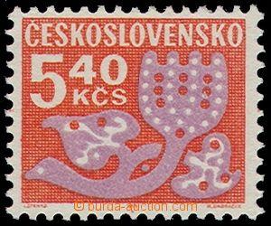 79645 -  Pof.D102yb, Doplatní - květy, papír fl2, svěží, zk. P
